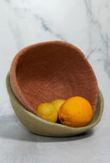 Fair Trade Felt Bowl - Citrus