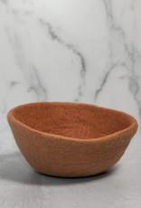 Fair Trade Felt Bowl - Rose