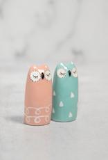 Sleepy Owl Salt/Pepper Set