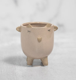Little Lamb Planter - Blush