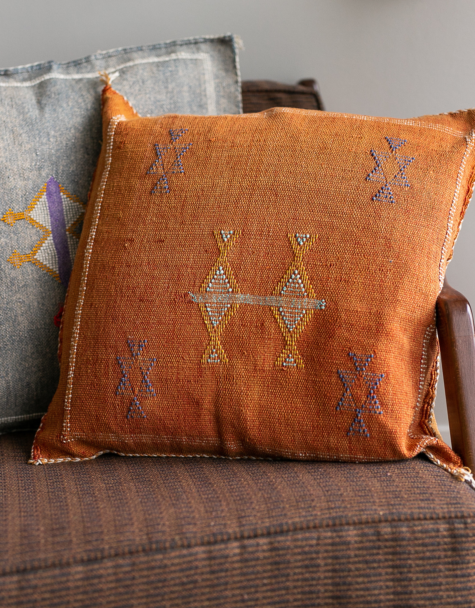 "20"" x 20"" Cactus Silk Pillow with Insert"