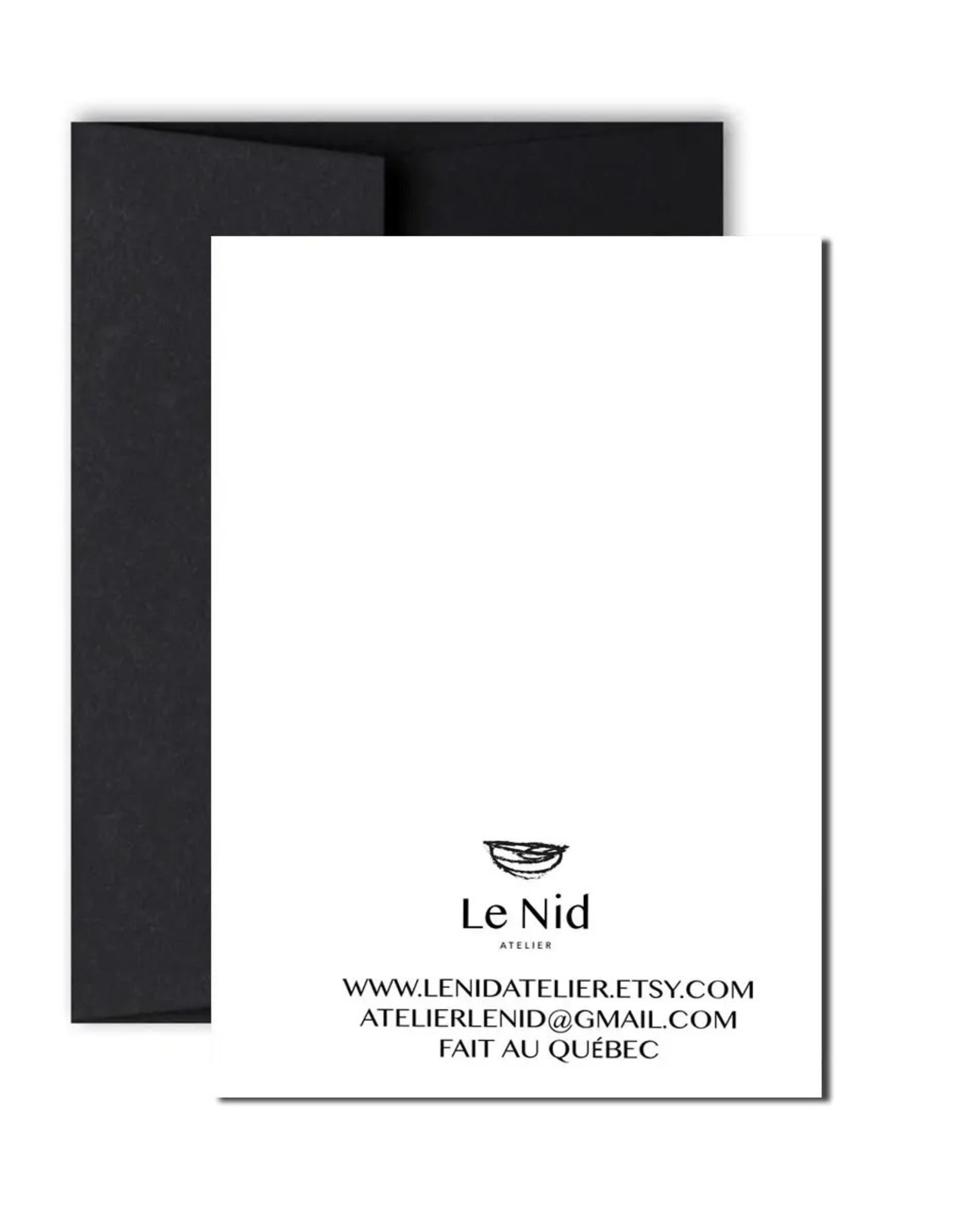 Le Nid - Adorable Alpaca Greeting Card