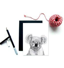 Le Nid - Koala Greeting Card