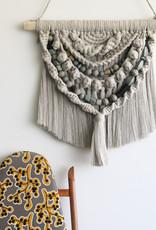 Macrame Wall Hanging - Fade to Grey