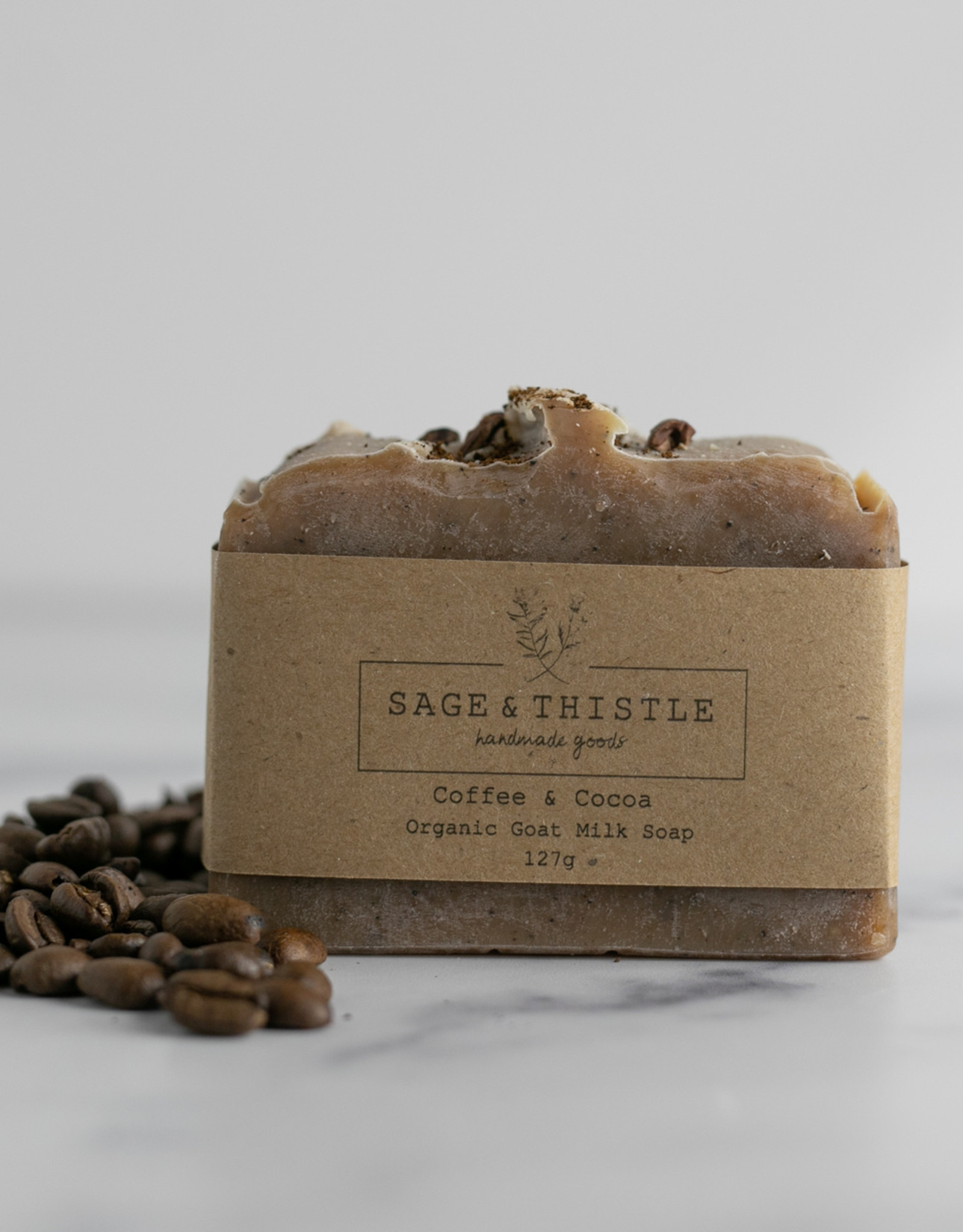 Sage & Thistle - Soap - Coffee & Cocoa