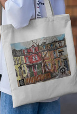 Atlas Arts - Canvas Tote Bag - Toronto's Victorian Houses