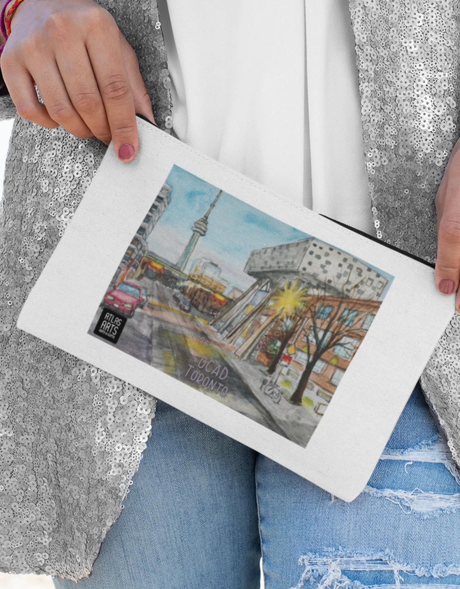 Atlas Arts - Canvas Pouch - Large - Toronto OCAD