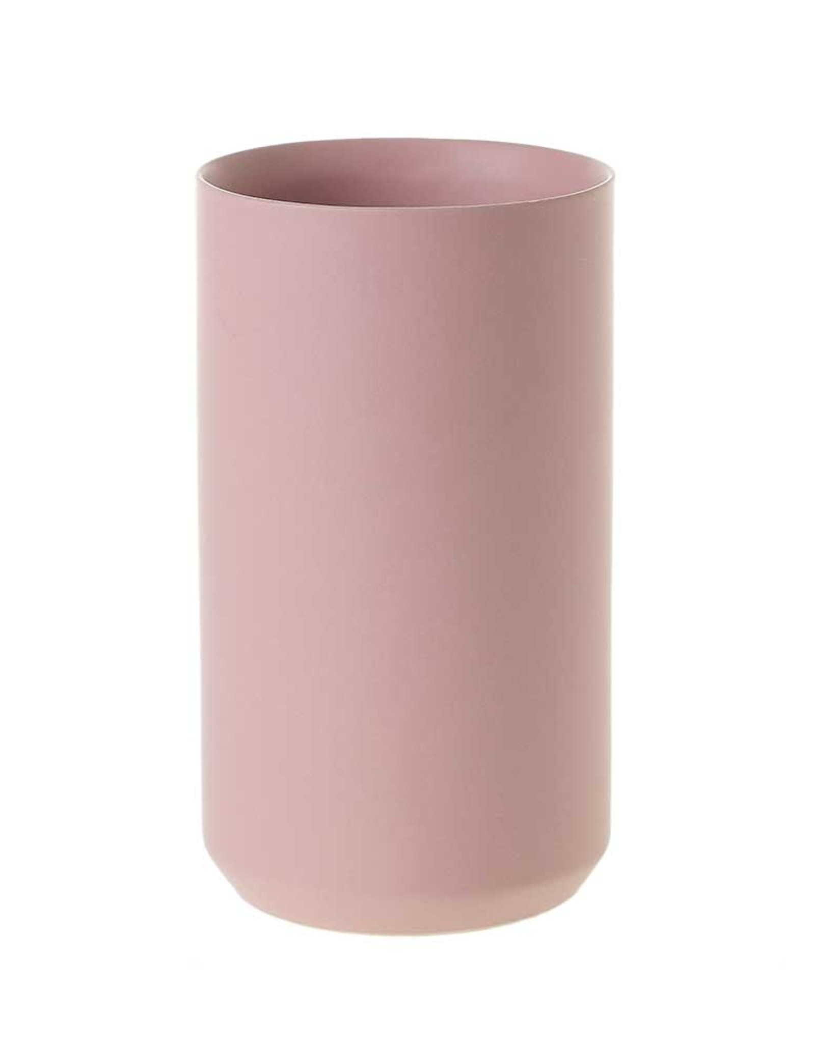 Pink Matte Vase - Large