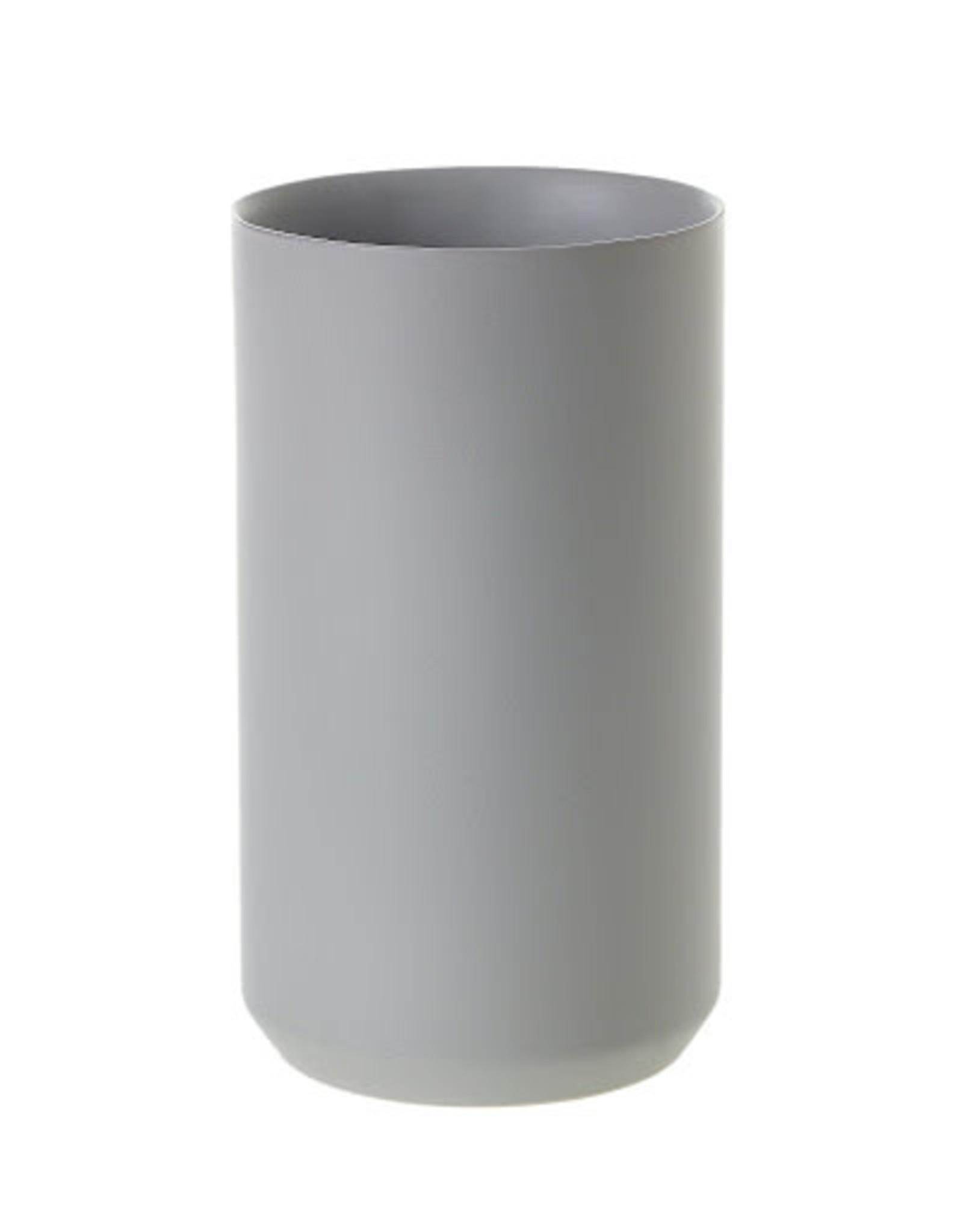 Grey Matte Vase - Large