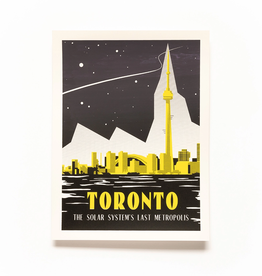 Secret Planet Screen Printed Poster - Toronto