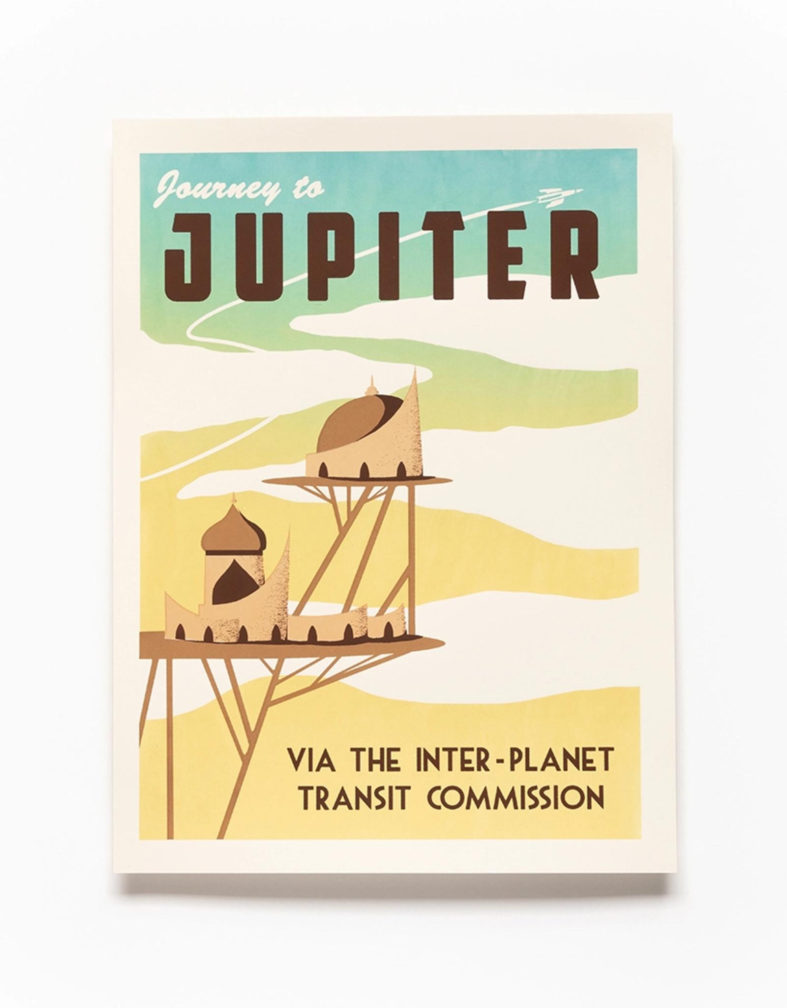 Secret Planet Screen Printed Poster - Jupiter