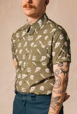 Pyknic Pyknic Pizza Slayer Men's Casual Button Up