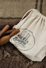 Handmade Natural Wooden Bowling Kit