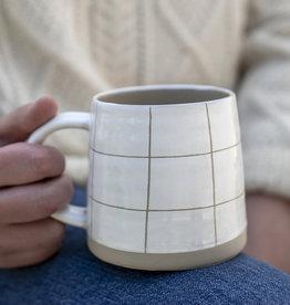 Indaba Cream Mug Squares