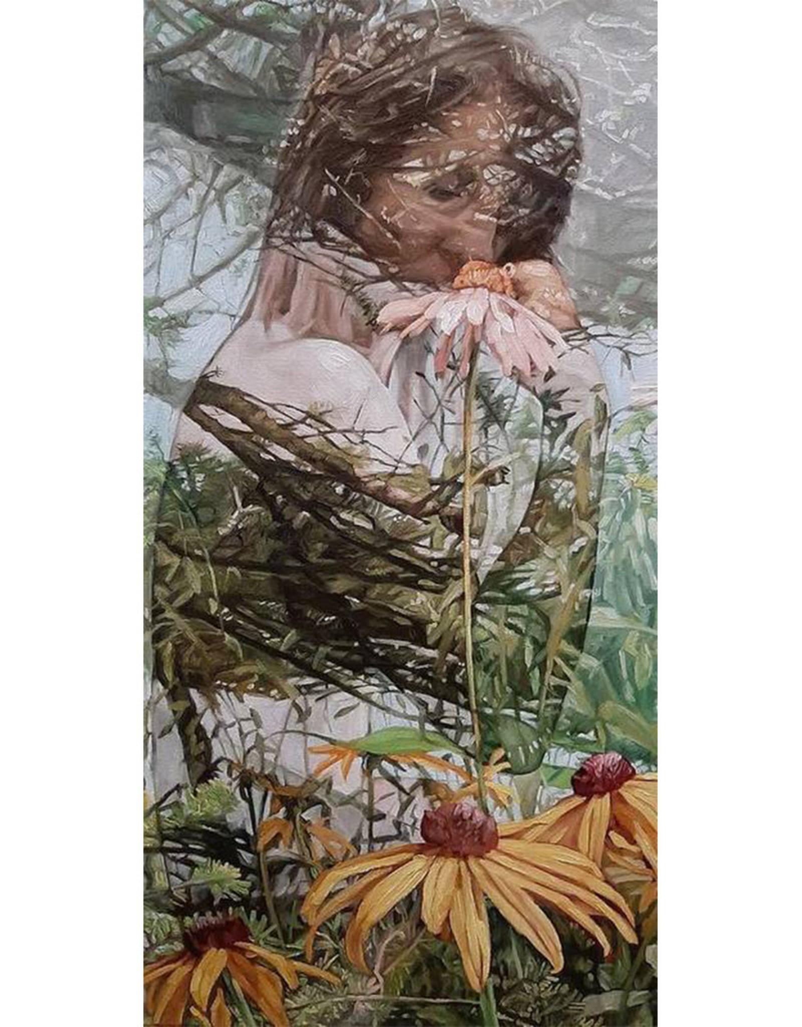 Sandra Manzi Painting - Translucent #1