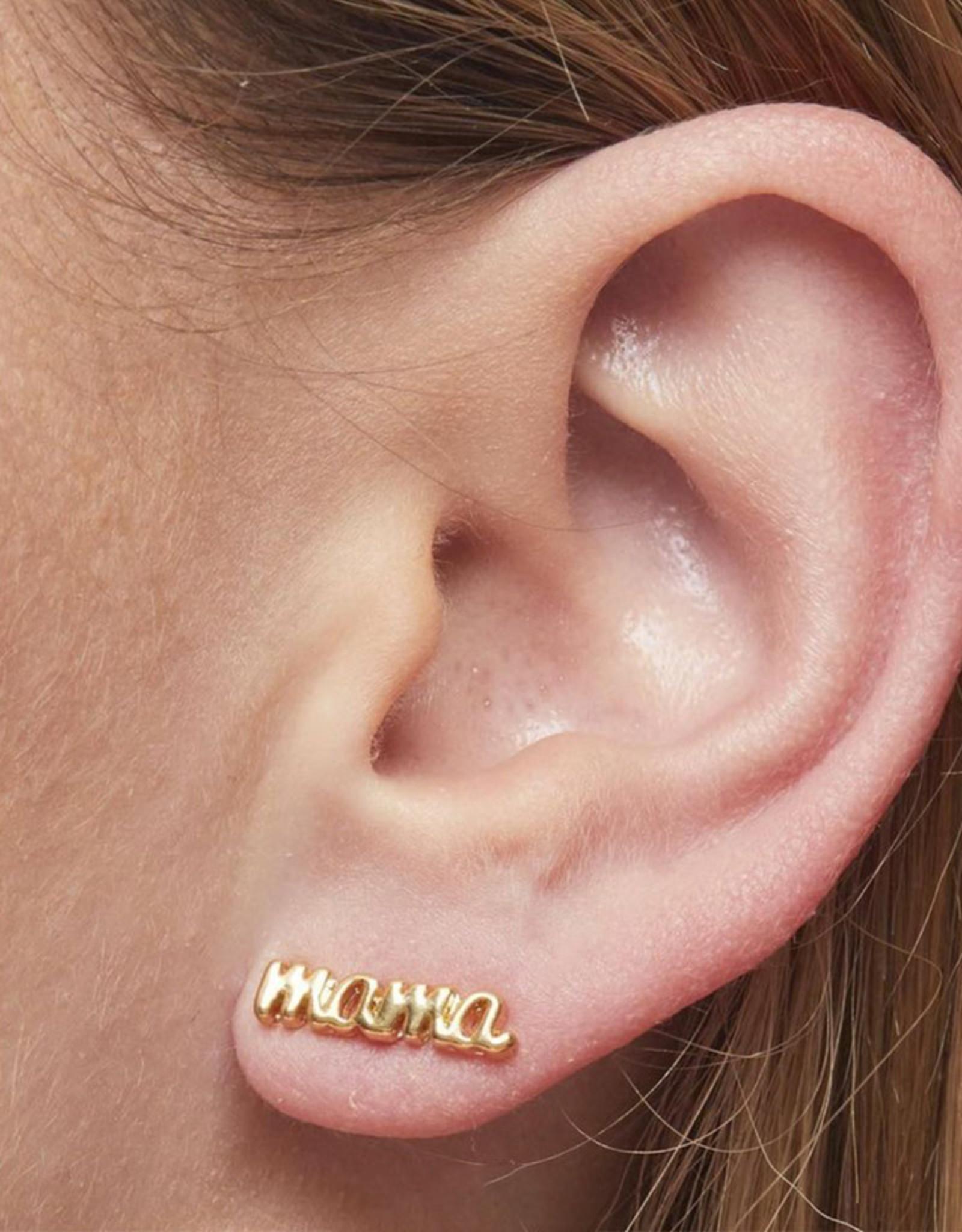 Foxy Originals - Mama Earrings - Gold