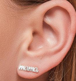 Foxy Originals - Mama Earrings - Silver