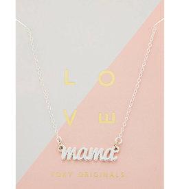 Foxy Originals - Mama Necklace - Silver