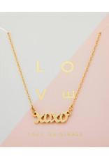 Foxy Originals - XO Necklace - Gold