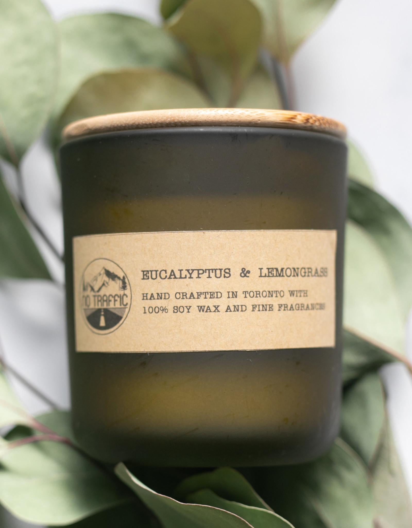 No Traffic No Traffic Spa Candle - Eucalyptus & Lemongrass