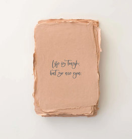 """Paper Barista Paper Barista Greeting Card -""""Life is tough, but so are you."""""""