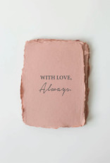 """Paper Barista Paper Barista Greeting Card - """"With Love, Always"""""""