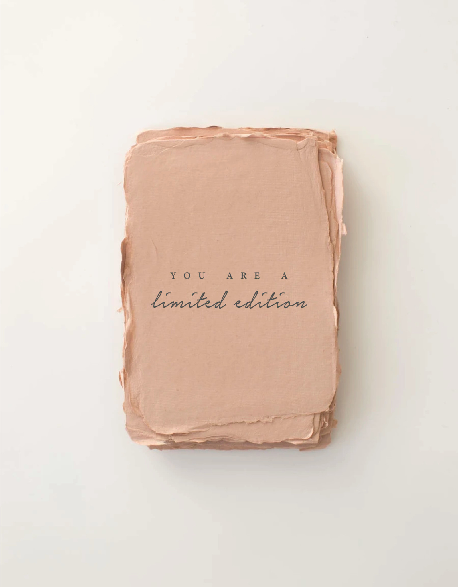 """Paper Barista Paper Barista Greeting Card - """"You are a Limited Edition"""""""