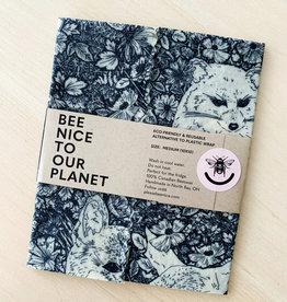 Bee Nice Bee Nice -Woodland Friends - Small Wrap