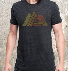 Black Lantern Black Lantern - T-Shirt - Retro Mountain