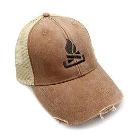Black Lantern Black Lantern - Trucker Hat - Campfire - Brown