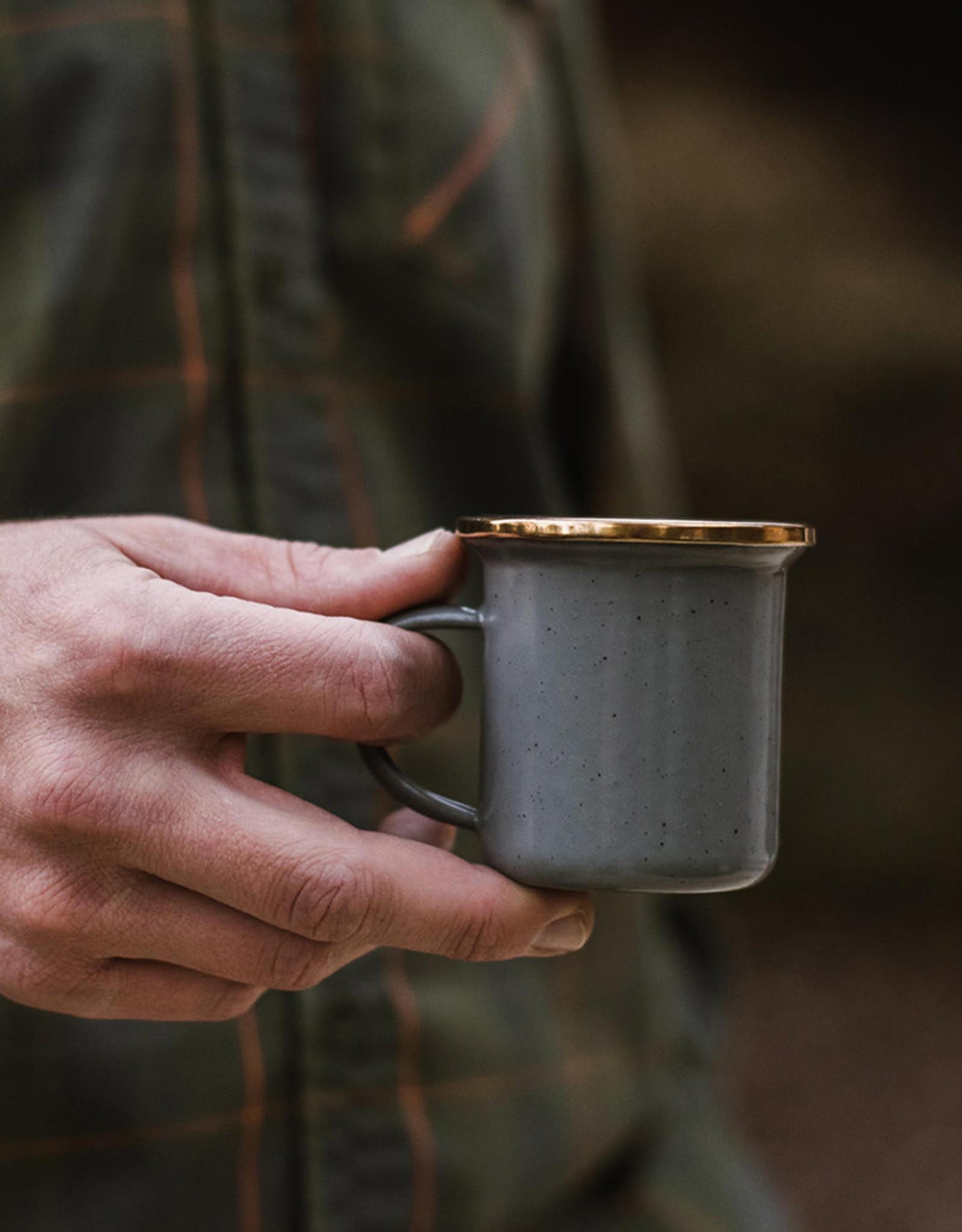 Barebones Barebones - Home - Enamel Espresso Cups (set of 2)