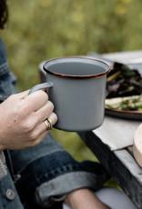 Barebones Barebones - Home - Enamel Coffee Cups (set of 2)