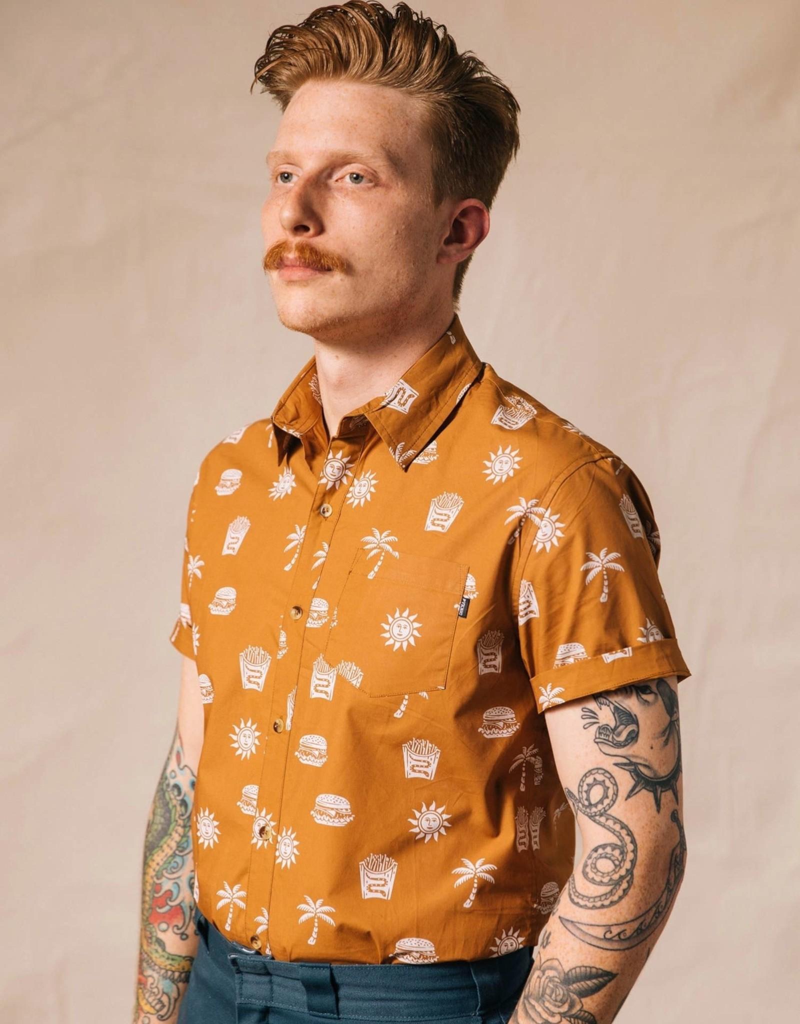 Pyknic Pyknic Take It Greasy Button-up Shirt