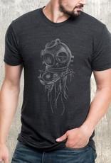 Black Lantern Black Lantern - T-Shirt - Jellyfish in Dive Helmet