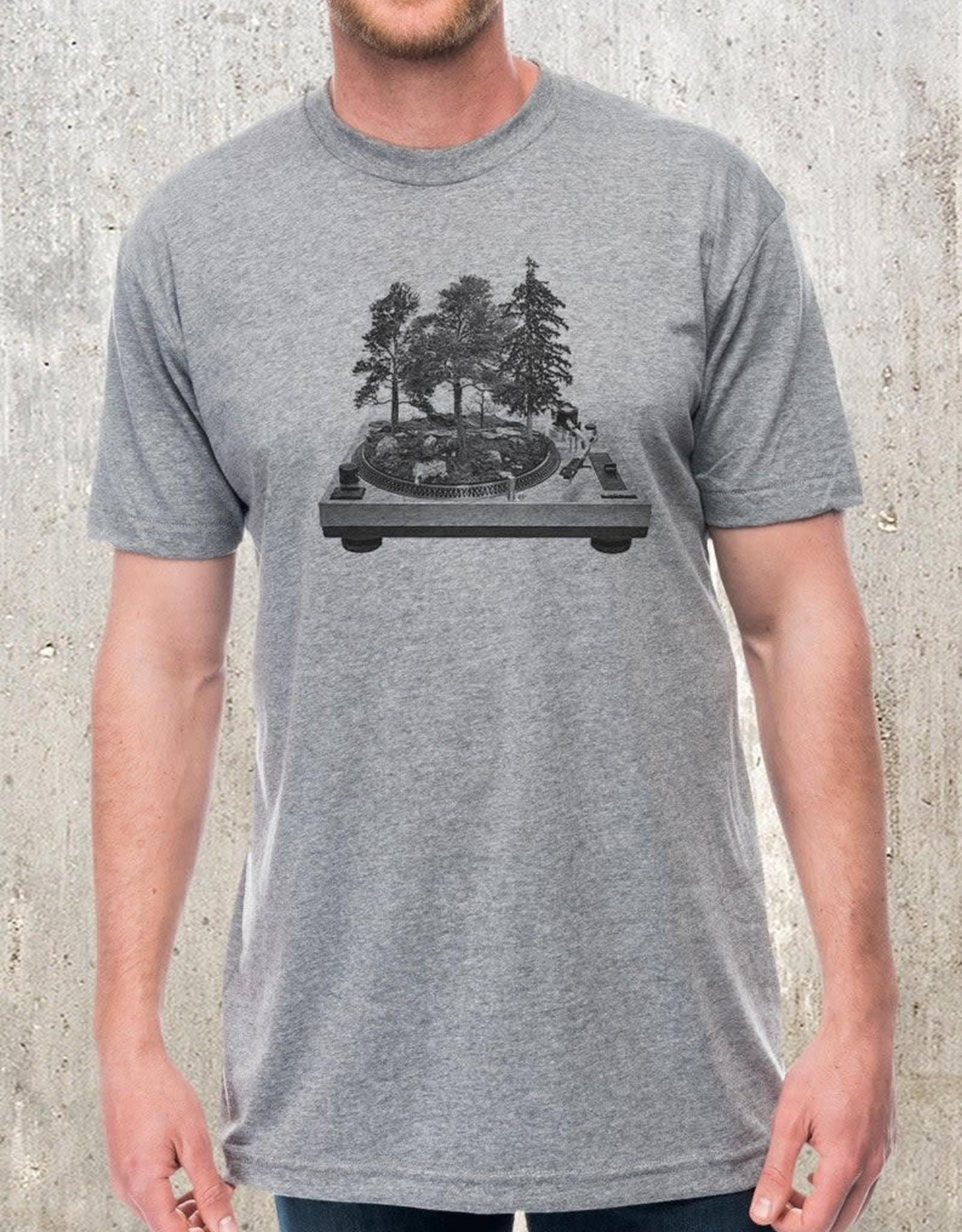 Black Lantern Black Lantern - T-shirt - Turntable Forest