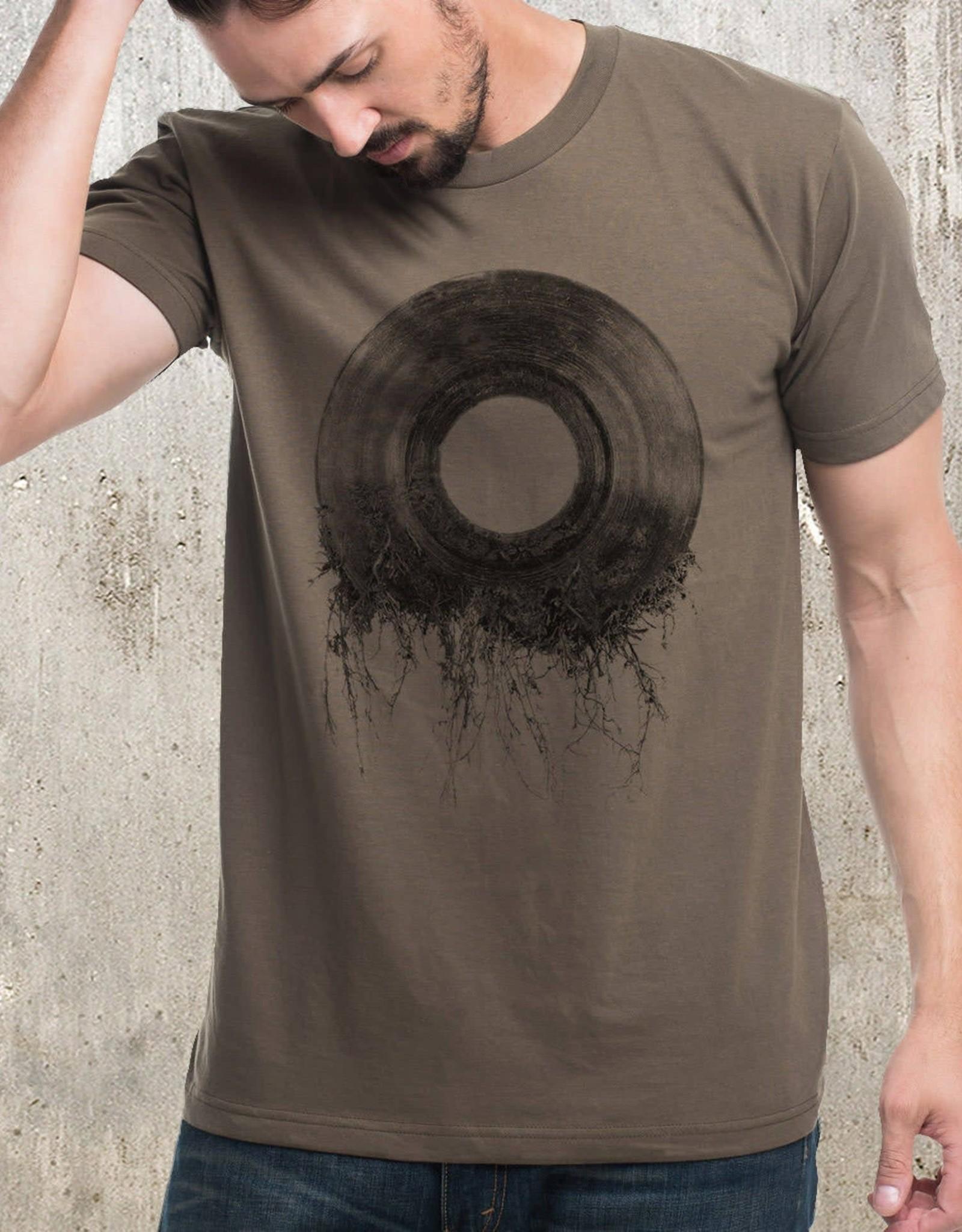 Black Lantern Black Lantern - T-Shirt - Vinyl Record Roots