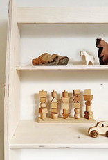Handmade Natural Wooden Stacking Toy