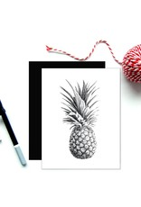 Le Nid - Pineapple Greeting Card