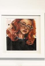 Emily Bitar Original Framed Watercolour 02