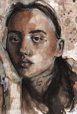 Emily Bitar Original Framed Watercolour 03