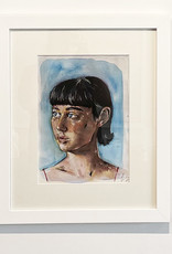 Emily Bitar Original Framed Watercolour 05
