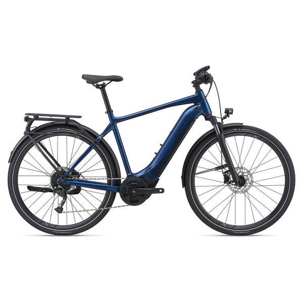 GIANT Explore E+ 2 Navy (barre droite) - Vélo électrique