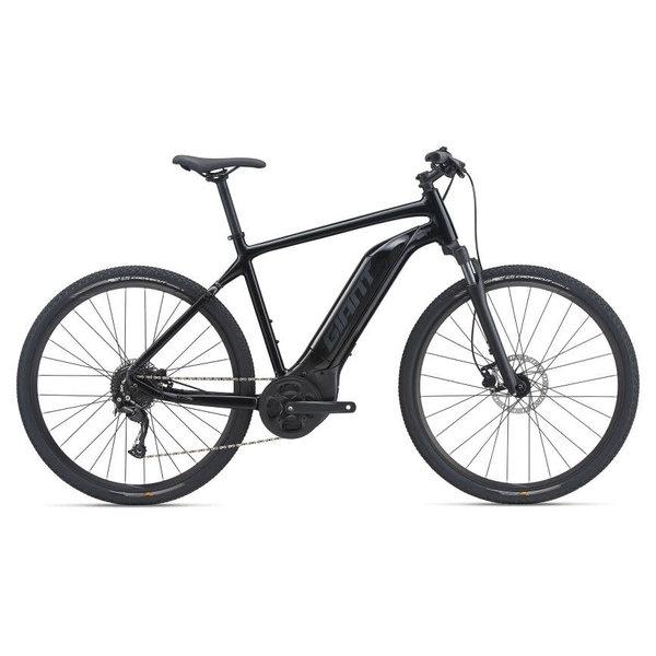 GIANT Vélo électrique Roam E+ Noir 2021 (barre droite)