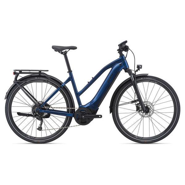 GIANT Vélo électrique Explore E+ 2 Navy 2021 (barre basse)