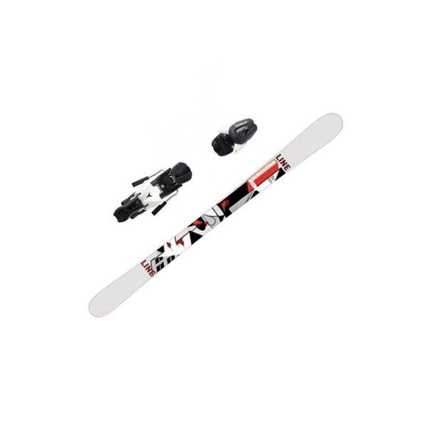 LINE Kit de ski Tom Wallisch Shorty + Fixation Atomic NL 7