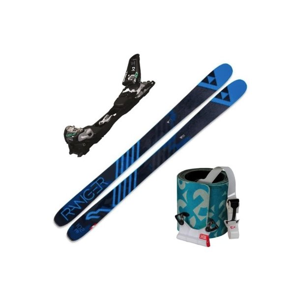 FISCHER Skis alpins Ranger Fr, Marker F10 et Peaux Black G3 Escapist