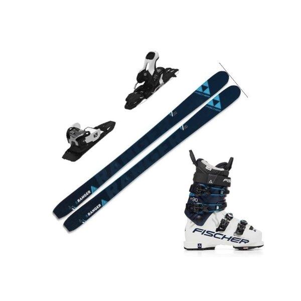 FISCHER Skis alpins My Ranger 90 TI, Fixation Atomic Warden 11 demo et Botte Fischer my ranger free 90 Walk