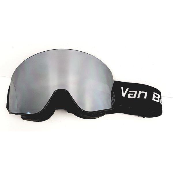 Lunette de ski alpin magnetique avec lentille noir