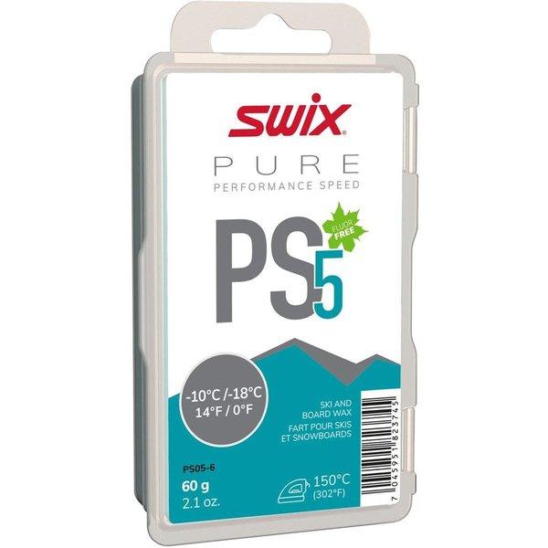 SWIX Cire PS5 Turquoise, -10°C/-18°C, 60G