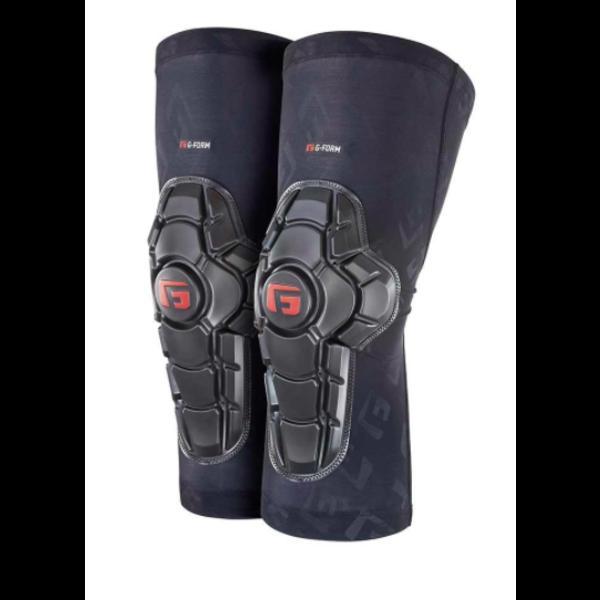 G-FORM Pro-X2 - Protège-genoux montagne noir junior